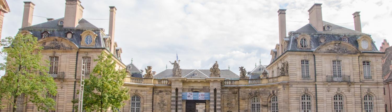 Palais Rohan in Downtown Strasbourg