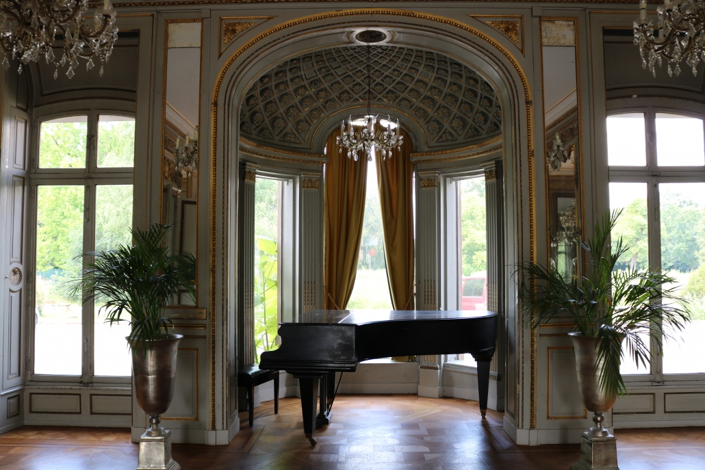 Grand Salon at the Chateau de Pourtales