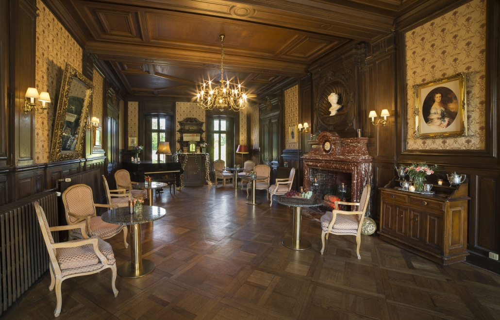 Salon Rogue at the Chateau de Pourtales